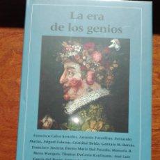 Libros: LIBRO NUEVO LA ERA DE LOS GENIOS. FUNDACIÓN AMIGOS DEL PRADO. CÍRCULO DE LECTORES. 2018. LIBRO NUEVO. Lote 151964152