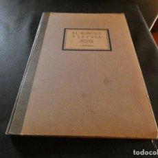 Libros: LIBRO EL DIBUJO Y LA CASA ALBUM DE DIBUJO LINA ALLICADO A LA EDIFICACION JOSE NIETO BARCELONA 1930. Lote 157399310