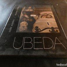 Libros: LIBRO SOBRE PINTURA: UBEDA POR JOSE HIERRO Y MNUEL CONDE BRASIL AÑOS 70 CROMOS EN CUBIERTA. Lote 157433210