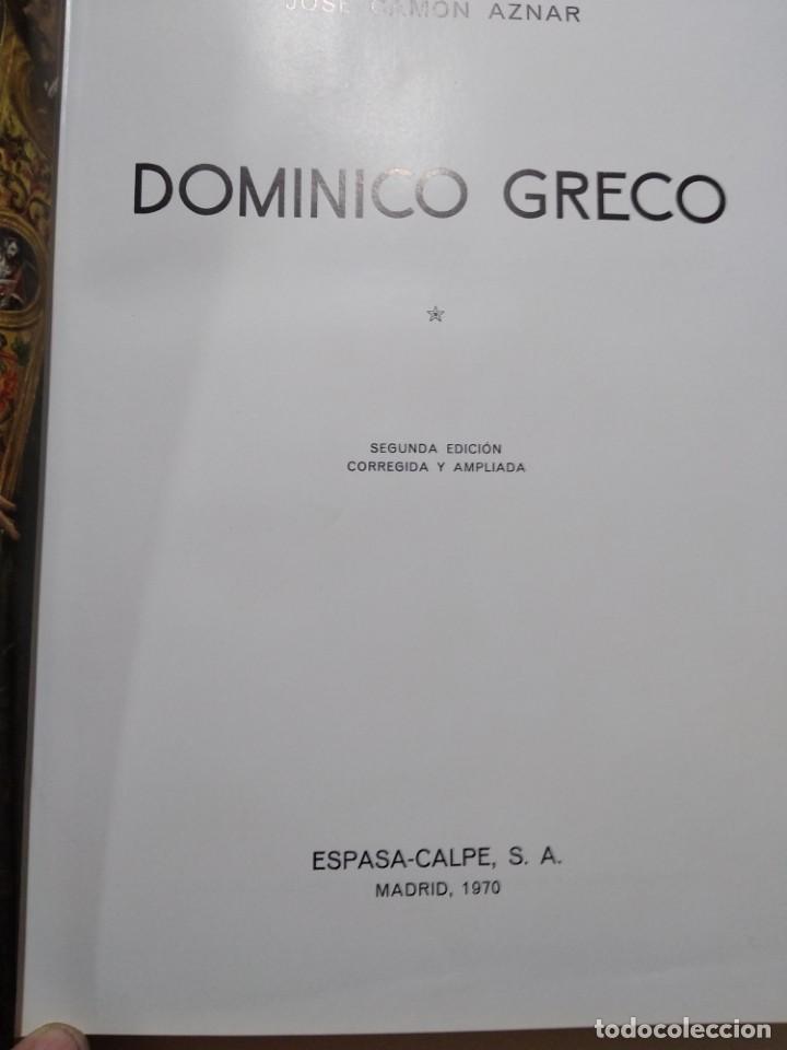 Libros: Dominico Greco - Foto 2 - 157714142