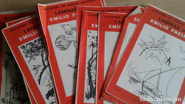 Libros: LOTE DE UNAS 190 LAMINAS DE DIBUJO ANTIGUAS-AÑOS 50,60 Y 70-VER FOTOS - Foto 2 - 165832950