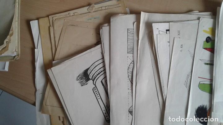 Libros: LOTE DE UNAS 190 LAMINAS DE DIBUJO ANTIGUAS-AÑOS 50,60 Y 70-VER FOTOS - Foto 4 - 165832950