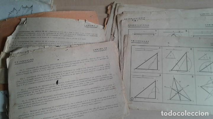 Libros: LOTE DE UNAS 190 LAMINAS DE DIBUJO ANTIGUAS-AÑOS 50,60 Y 70-VER FOTOS - Foto 6 - 165832950