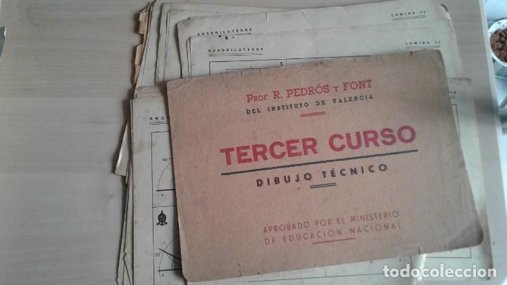 Libros: LOTE DE UNAS 190 LAMINAS DE DIBUJO ANTIGUAS-AÑOS 50,60 Y 70-VER FOTOS - Foto 7 - 165832950