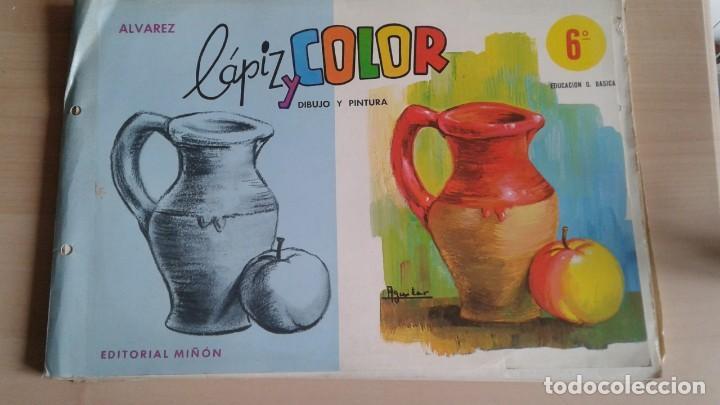 Libros: LOTE DE UNAS 190 LAMINAS DE DIBUJO ANTIGUAS-AÑOS 50,60 Y 70-VER FOTOS - Foto 8 - 165832950