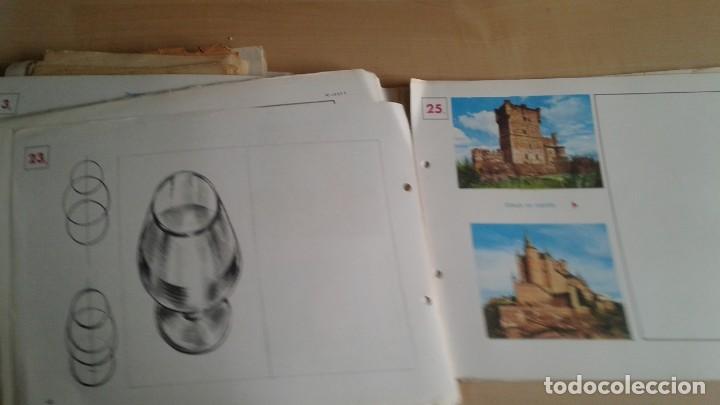 Libros: LOTE DE UNAS 190 LAMINAS DE DIBUJO ANTIGUAS-AÑOS 50,60 Y 70-VER FOTOS - Foto 10 - 165832950