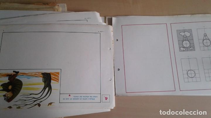 Libros: LOTE DE UNAS 190 LAMINAS DE DIBUJO ANTIGUAS-AÑOS 50,60 Y 70-VER FOTOS - Foto 11 - 165832950