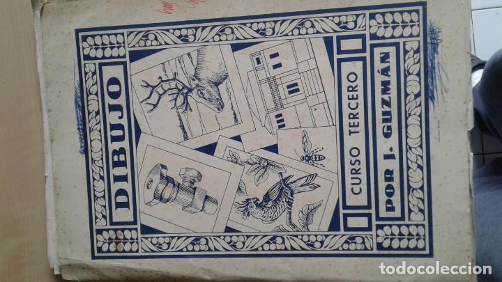 Libros: LOTE DE UNAS 190 LAMINAS DE DIBUJO ANTIGUAS-AÑOS 50,60 Y 70-VER FOTOS - Foto 12 - 165832950