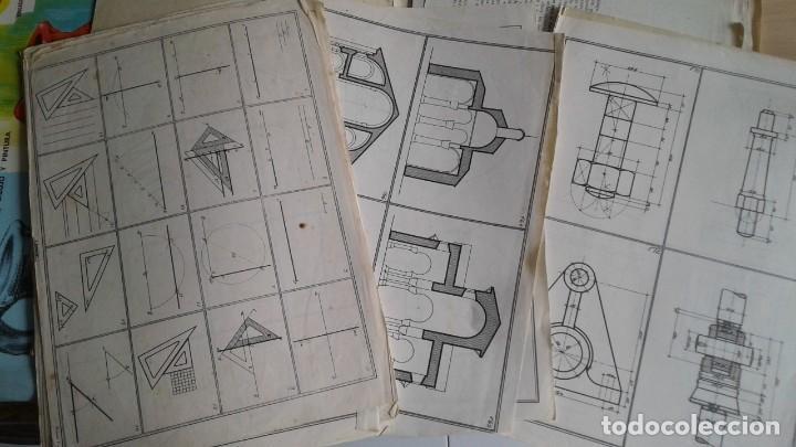 Libros: LOTE DE UNAS 190 LAMINAS DE DIBUJO ANTIGUAS-AÑOS 50,60 Y 70-VER FOTOS - Foto 13 - 165832950