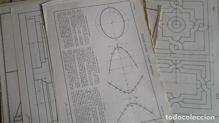 Libros: LOTE DE UNAS 190 LAMINAS DE DIBUJO ANTIGUAS-AÑOS 50,60 Y 70-VER FOTOS - Foto 14 - 165832950