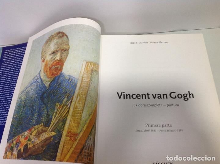 Libros: VINCENT VAN GOGH LA OBRA COMPLETA PINTURA INGO F WALTHER RAINER METZGER - Foto 2 - 167083072