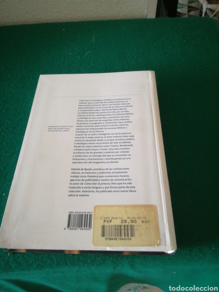 Libros: COMO LEER LA MITOLOGIA Y LA BIBLIA EN LA PINTURA - Foto 3 - 167691526