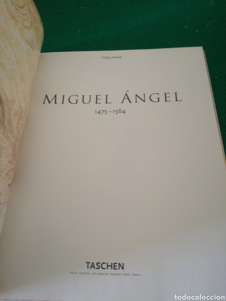 Libros: MIGUEL ÁNGEL - Foto 7 - 167691721