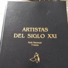Libros: LIBRO ARTISTAS SIGLO XXI 2004 ( PINTURA ). Lote 168221212