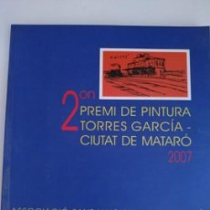 Libros: 2ON PREMI DE PINTURA TORRES GARCÍA-CIUTAT DE MATARÓ. Lote 168541252
