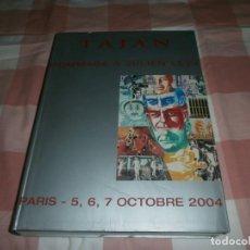 Libros: TAJAN HOMMAGE Á JULIEN LEVY PARIS 5 6 7 OCTOBRE 2004 PARIS LIBRO 515 PG. 30,5 X 23 CM. . Lote 170430500