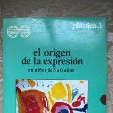 Libros: EL ORIGEN DE LA EXPRESIÓN EN NIÑOS DE 3 A 6 AÑOS. Lote 171263424