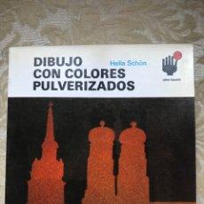 Libros: DIBUJO CON COLORES PULVERIZADOS / CÓMO HACERLO / CEAC. Lote 171264380