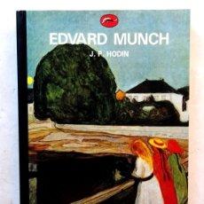 Libros: EDWARD MUNCH – J. P. HODIN. Lote 172241835