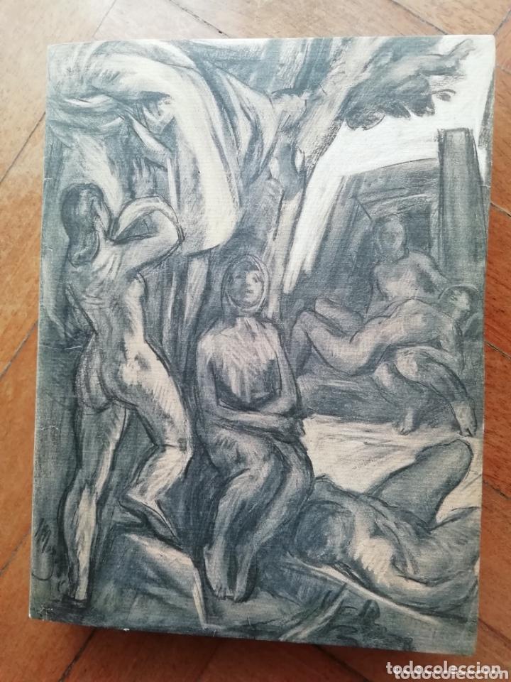 PEDRO MOZOS CATÁLOGO DE LA EXPOSICIÓN CONDE DUQUE, 330 PAG. Y LITOGRAFIA FIRMADA Y ENMARCADA. (Libros Nuevos - Bellas Artes, ocio y coleccionismo - Pintura)