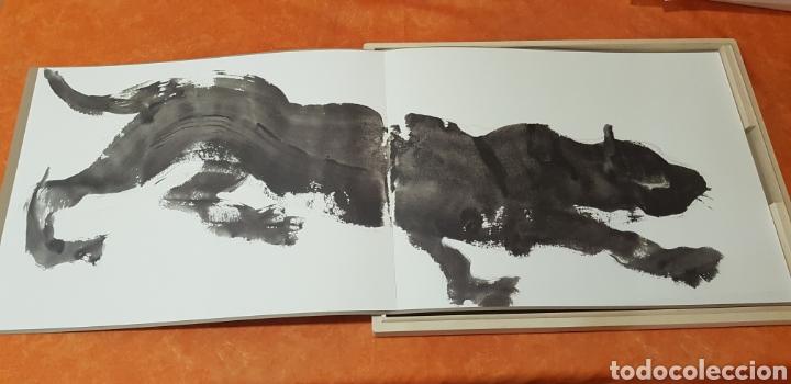 Libros: Miquel Barceló. edicion limitada. firmada a lapiz por miquel barcelò.Cahier de felins.lámina - Foto 3 - 175193148