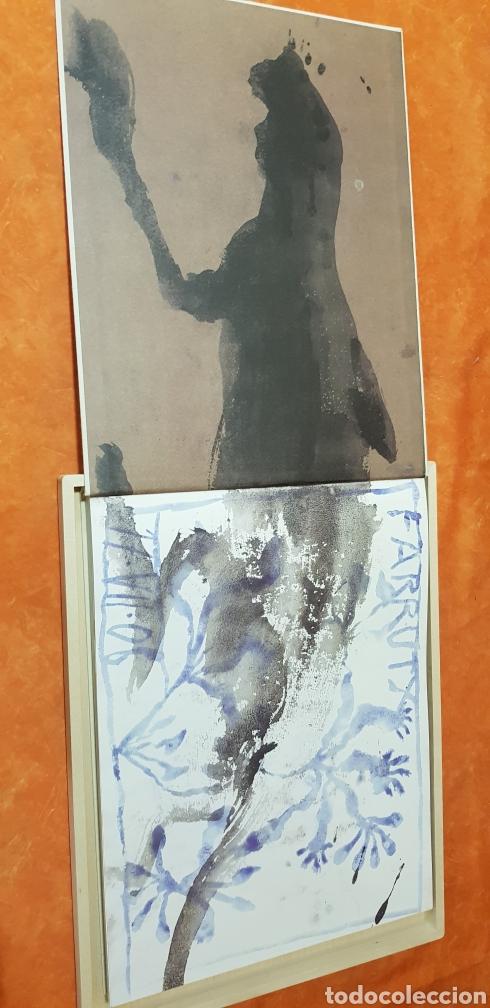 Libros: Miquel Barceló. edicion limitada. firmada a lapiz por miquel barcelò.Cahier de felins.lámina - Foto 8 - 175193148