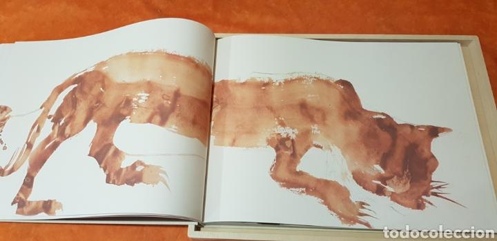 Libros: Miquel Barceló. edicion limitada. firmada a lapiz por miquel barcelò.Cahier de felins.lámina - Foto 10 - 175193148