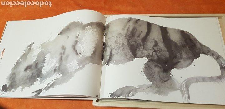 Libros: Miquel Barceló. edicion limitada. firmada a lapiz por miquel barcelò.Cahier de felins.lámina - Foto 11 - 175193148