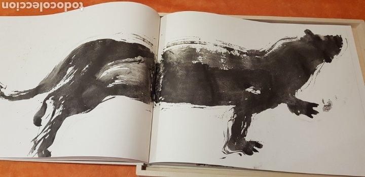 Libros: Miquel Barceló. edicion limitada. firmada a lapiz por miquel barcelò.Cahier de felins.lámina - Foto 12 - 175193148