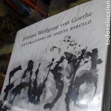 Libros: FAUSTO. MIQUEL BARCELO. PRIMERA PARTE. NUEVO. JOHANN WOLFGANG.. Lote 175797707