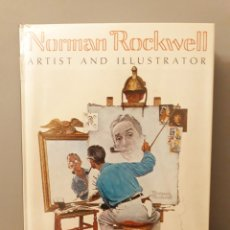 Libros: NORMAN ROCKWELL ARTIST AND ILLUSTRATOR LIBRO. Lote 176305773