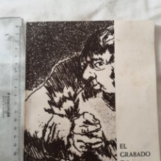 Libros: LIBRO EL GRABADO DE ESPAÑA. 1962.CASTELLANO, INGLÉS, ALEMAN. Lote 178349773