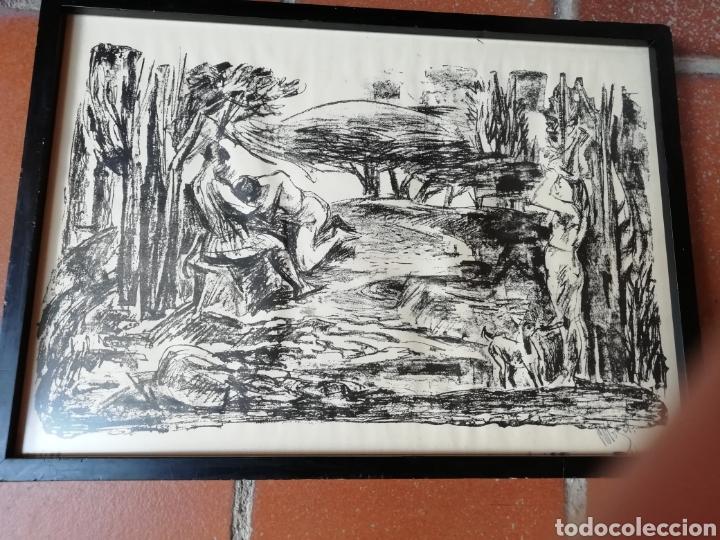 Libros: Pedro mozos catálogo de la exposición Conde Duque, 330 pag. y litografia firmada y enmarcada. - Foto 5 - 173505752