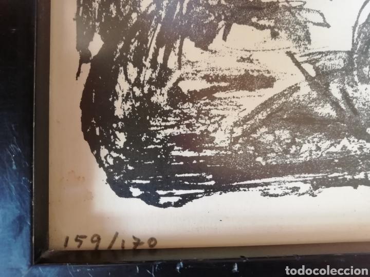 Libros: Pedro mozos catálogo de la exposición Conde Duque, 330 pag. y litografia firmada y enmarcada. - Foto 7 - 173505752