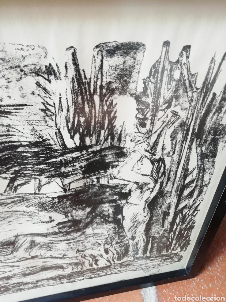 Libros: Pedro mozos catálogo de la exposición Conde Duque, 330 pag. y litografia firmada y enmarcada. - Foto 8 - 173505752