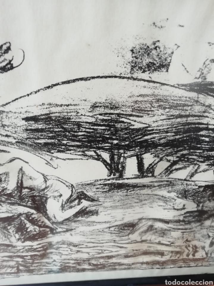 Libros: Pedro mozos catálogo de la exposición Conde Duque, 330 pag. y litografia firmada y enmarcada. - Foto 9 - 173505752