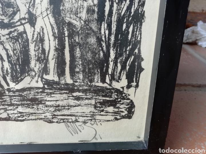 Libros: Pedro mozos catálogo de la exposición Conde Duque, 330 pag. y litografia firmada y enmarcada. - Foto 10 - 173505752