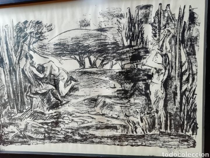 Libros: Pedro mozos catálogo de la exposición Conde Duque, 330 pag. y litografia firmada y enmarcada. - Foto 11 - 173505752