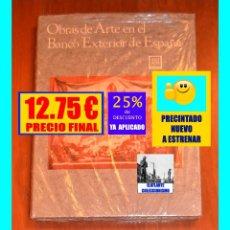 Libros: OBRAS DE ARTE EN EL BANCO EXTERIOR DE ESPAÑA - XAVIER DE SALAS - 1979 - MUY ILUSTRADO - PRECINTADO. Lote 180499251