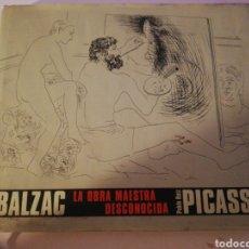 Libros: PICASO LA OBRA MAESTRA DESCONOCIDA PICASO. Lote 181979967