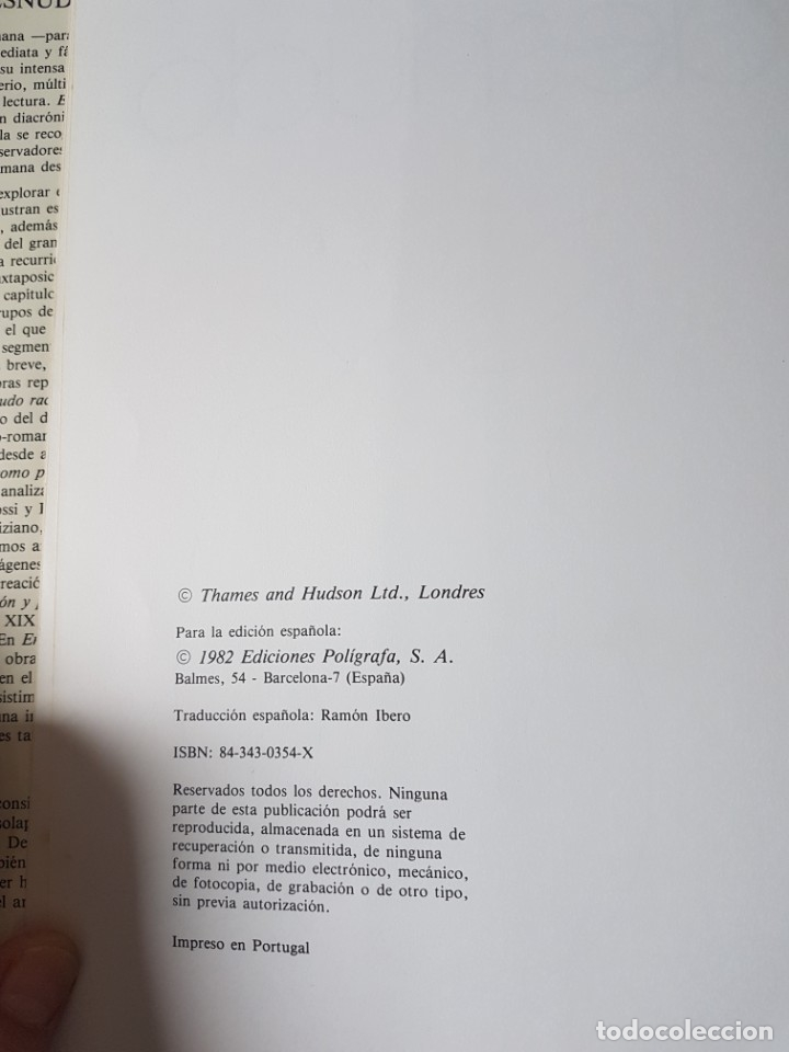 Libros: EL ARTE DEL DESNUDO. - LUCIE-SMITH, Edward - Foto 3 - 182674782