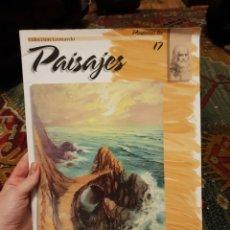Libros: PINTEMOS LOS PAISAJES 17. COLECCIÓN LEONARDO.. Lote 183035008