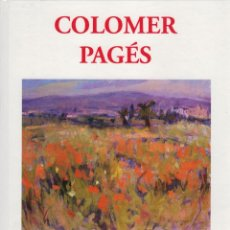 Libri: COLOMER PAGÉS, ED GAL ART. Lote 184322703