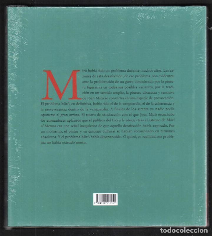 Libros: JOAN MIRÓ JOAN M MINGUET BATLLORI FUNDACIÓN MAPFRE INSTITUTO DE CULTURA 2009 1ª EDICIÓN PLASTIFICADO - Foto 4 - 185884222