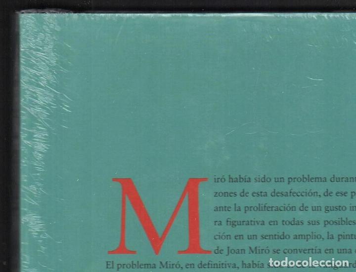 Libros: JOAN MIRÓ JOAN M MINGUET BATLLORI FUNDACIÓN MAPFRE INSTITUTO DE CULTURA 2009 1ª EDICIÓN PLASTIFICADO - Foto 13 - 185884222