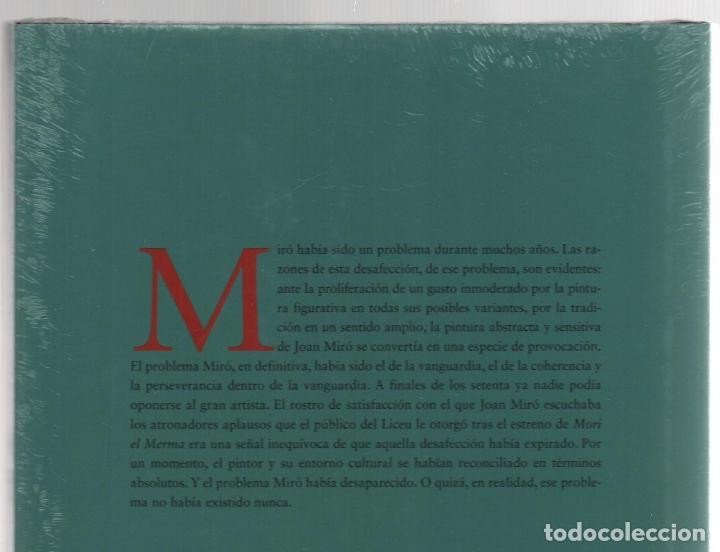 Libros: JOAN MIRÓ JOAN M MINGUET BATLLORI FUNDACIÓN MAPFRE INSTITUTO DE CULTURA 2009 1ª EDICIÓN PLASTIFICADO - Foto 15 - 185884222