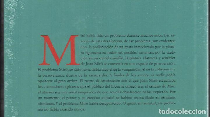 Libros: JOAN MIRÓ JOAN M MINGUET BATLLORI FUNDACIÓN MAPFRE INSTITUTO DE CULTURA 2009 1ª EDICIÓN PLASTIFICADO - Foto 21 - 185884222