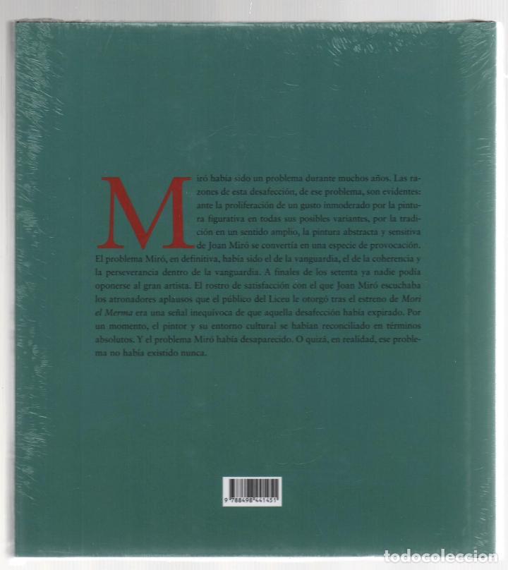 Libros: JOAN MIRÓ JOAN M MINGUET BATLLORI FUNDACIÓN MAPFRE INSTITUTO DE CULTURA 2009 1ª EDICIÓN PLASTIFICADO - Foto 23 - 185884222