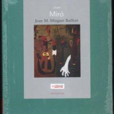 Libros: JOAN MIRÓ JOAN M MINGUET BATLLORI FUNDACIÓN MAPFRE INSTITUTO DE CULTURA 2009 1ª EDICIÓN PLASTIFICADO. Lote 185884222