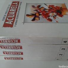 Libros: CURSO PRACTICO DE ACUARELA. Lote 189332076